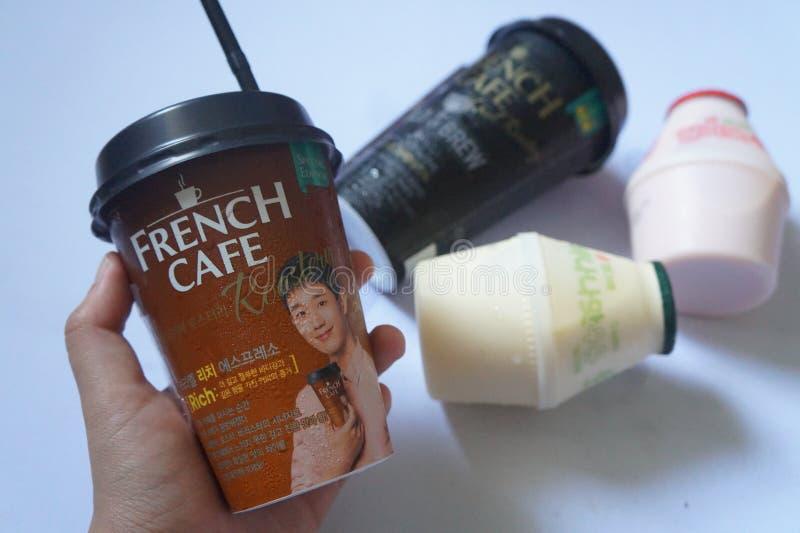 Γαλλικός καφές στοκ φωτογραφία με δικαίωμα ελεύθερης χρήσης