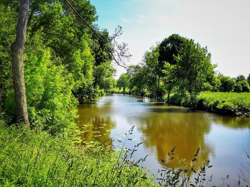 γαλλικός ποταμός στοκ φωτογραφίες με δικαίωμα ελεύθερης χρήσης