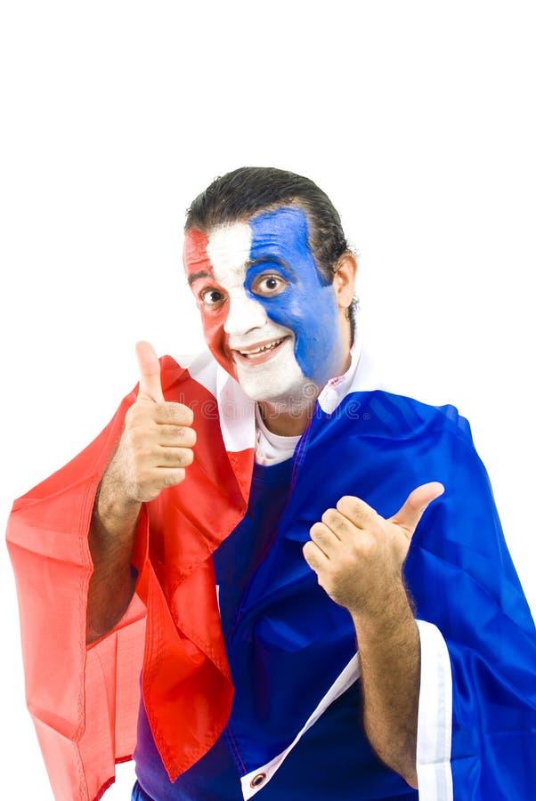 γαλλικός υποστηρικτής στοκ εικόνα