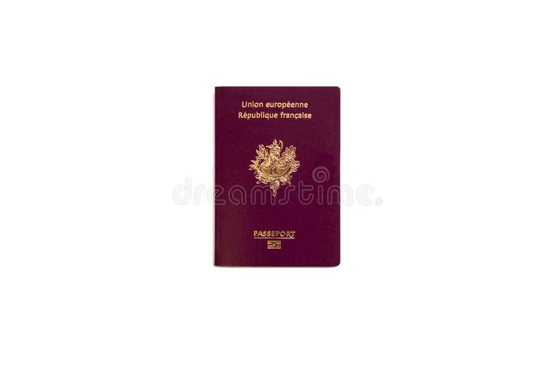 γαλλικό διαβατήριο στοκ εικόνα