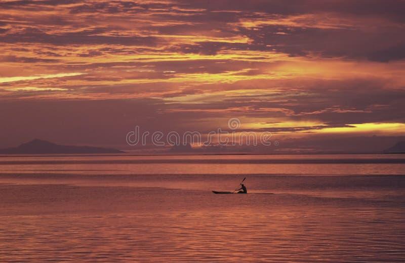 γαλλικό ηλιοβασίλεμα Τ&a στοκ εικόνες