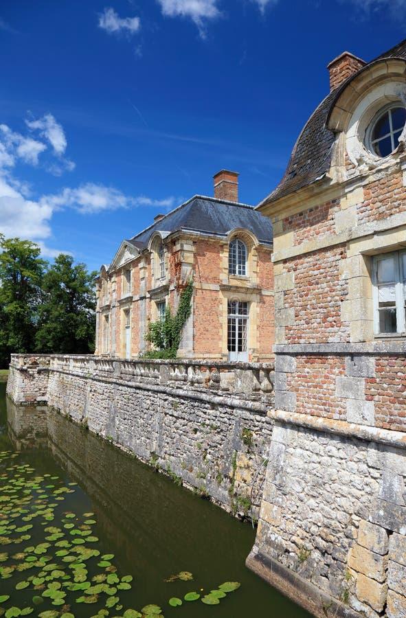 γαλλικό μέγαρο παλαιό στοκ εικόνα με δικαίωμα ελεύθερης χρήσης