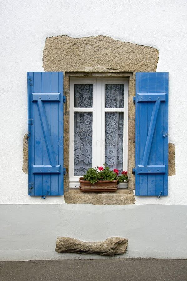γαλλικό παράθυρο στοκ εικόνες