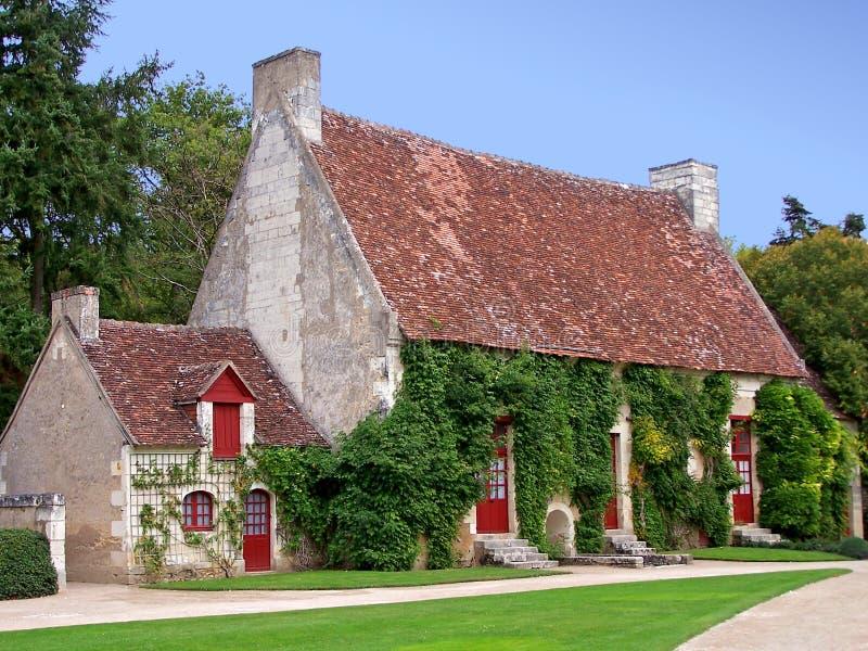 γαλλικό σπίτι χωρών στοκ φωτογραφίες με δικαίωμα ελεύθερης χρήσης