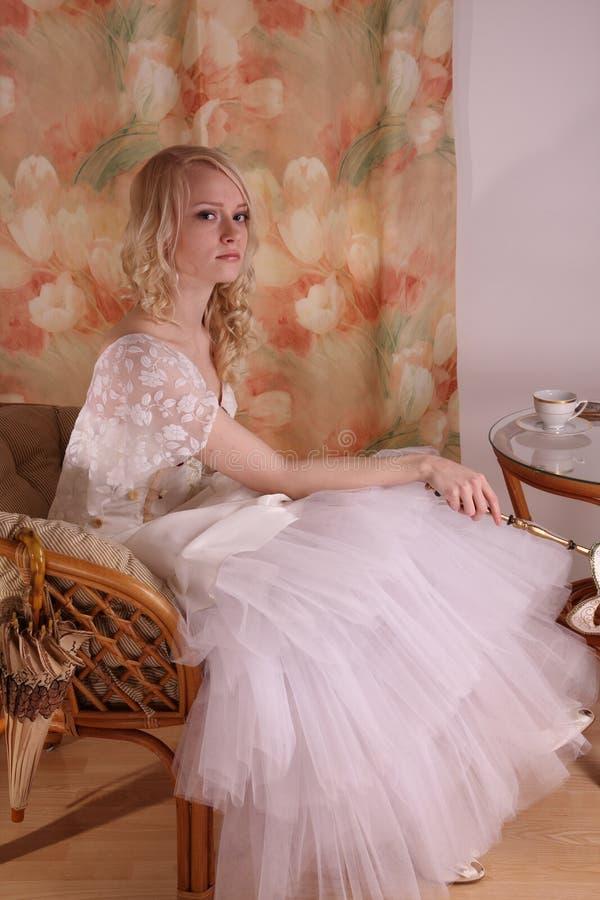 γαμήλια γυναίκα φορεμάτω& στοκ φωτογραφίες με δικαίωμα ελεύθερης χρήσης