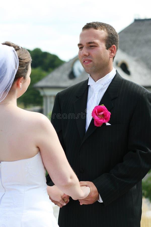 Γαμήλια τελετή στοκ φωτογραφία