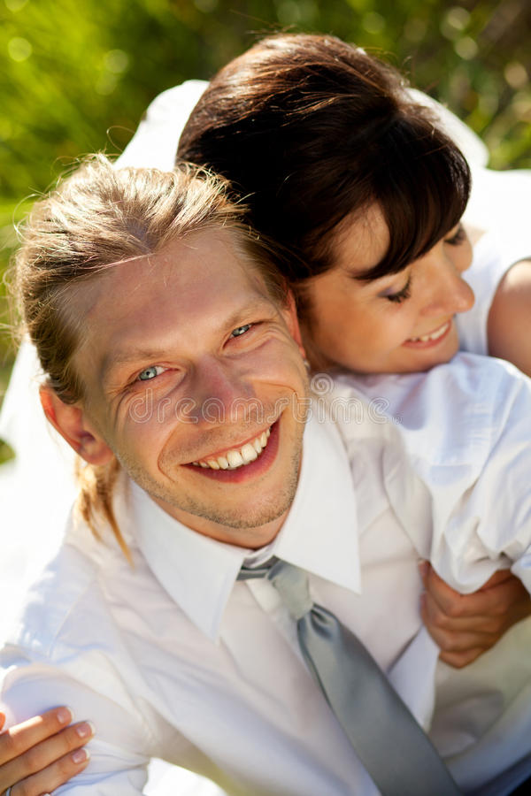 Γαμήλιο ζεύγος στοκ εικόνες