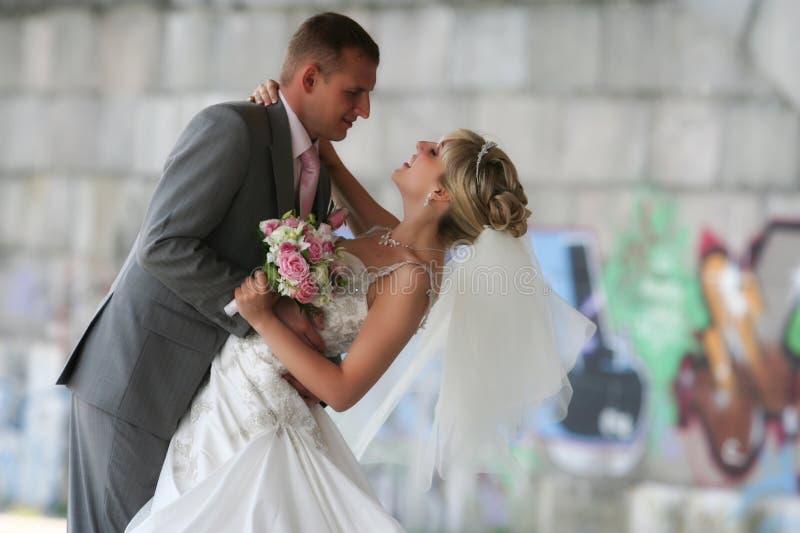 Γαμήλιο ζεύγος στοκ εικόνες με δικαίωμα ελεύθερης χρήσης