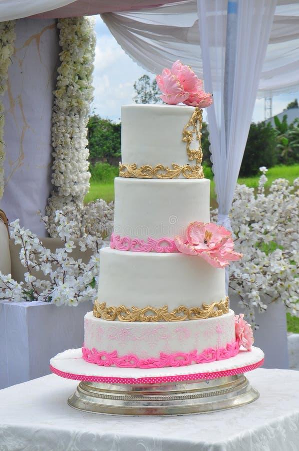 Γαμήλιο κέικ στοκ εικόνες με δικαίωμα ελεύθερης χρήσης