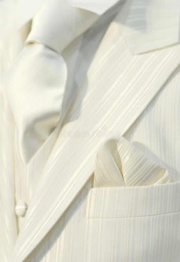 γαμήλιο λευκό κοστουμιών στοκ εικόνες με δικαίωμα ελεύθερης χρήσης