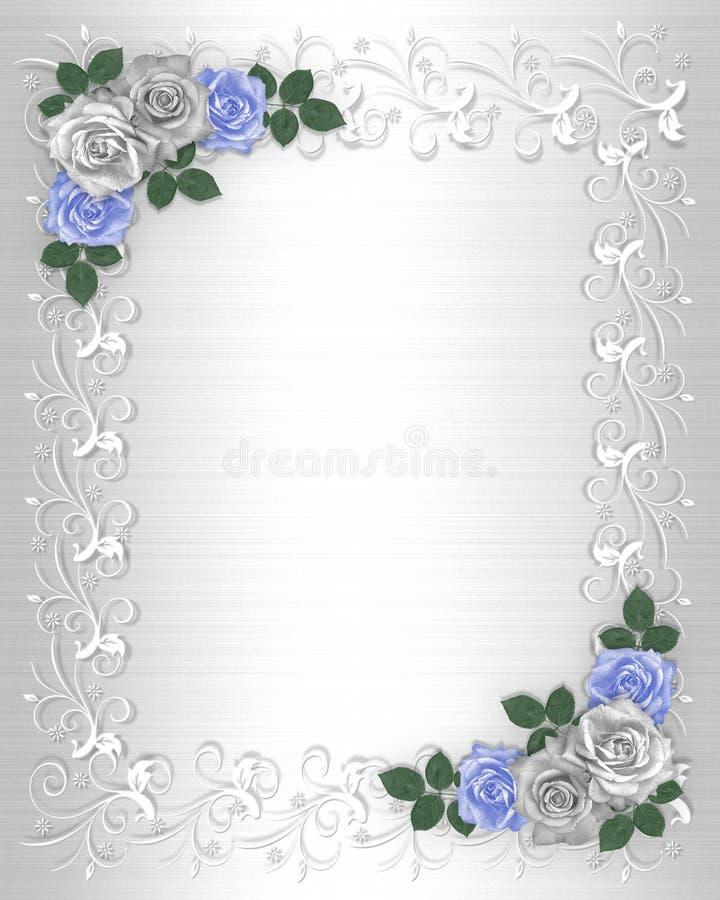 γαμήλιο λευκό σατέν πρόσκ&la απεικόνιση αποθεμάτων
