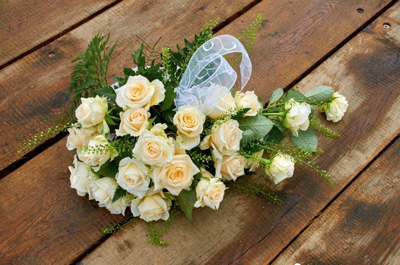 Γαμήλια ανθοδέσμη μόνη στοκ εικόνες