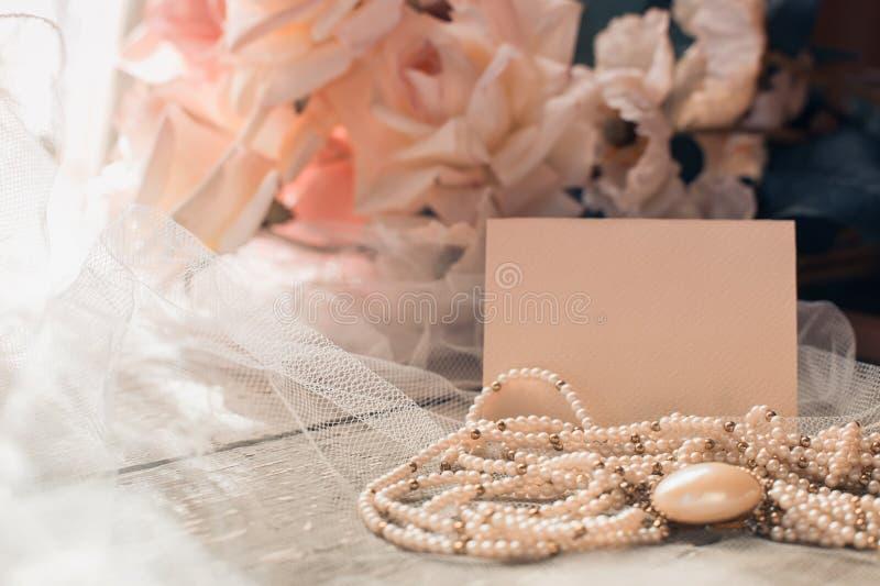 Γαμήλια κάρτα στοκ εικόνα με δικαίωμα ελεύθερης χρήσης