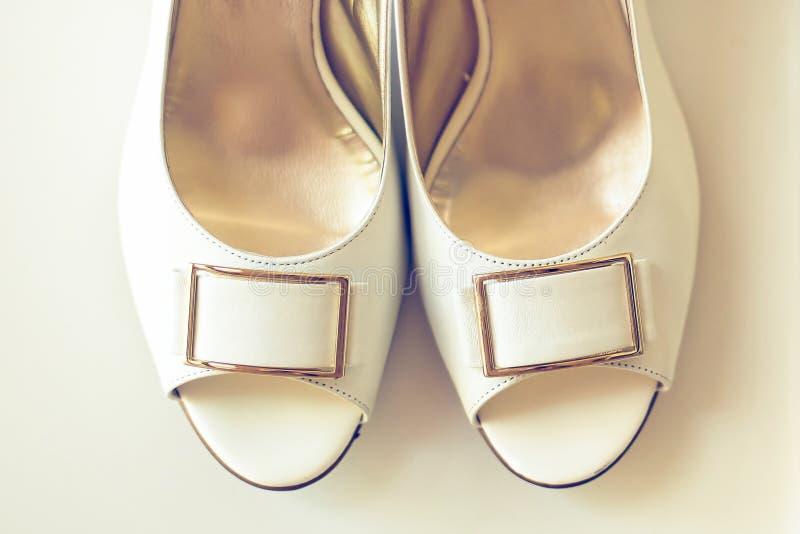 Γαμήλια παπούτσια στοκ φωτογραφίες
