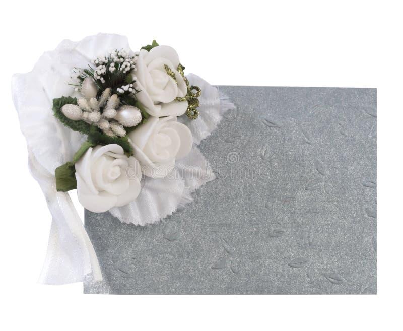 Γαμήλια σημείωση στοκ φωτογραφία με δικαίωμα ελεύθερης χρήσης