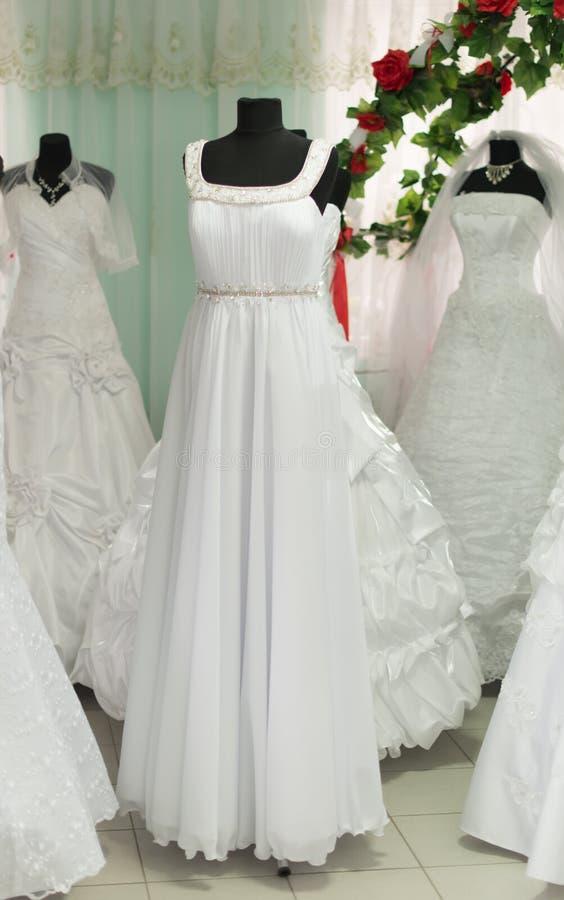 Γαμήλια φορέματα στοκ εικόνες με δικαίωμα ελεύθερης χρήσης