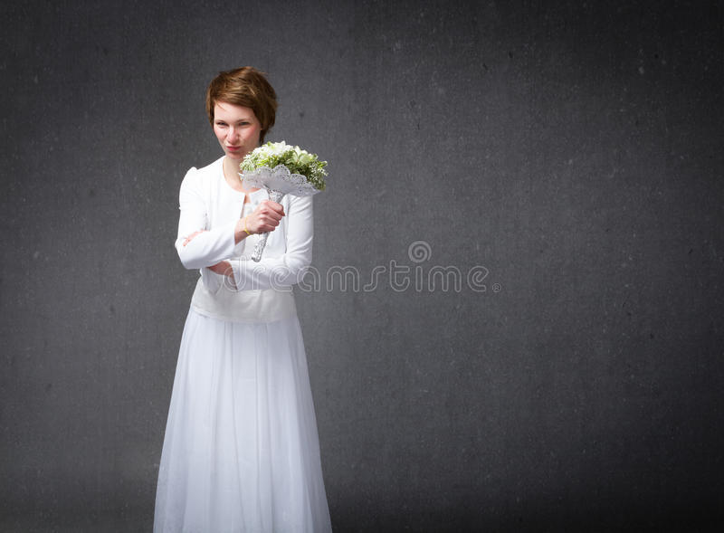 Γαμήλιες αγενείς χειρονομίες στοκ εικόνα με δικαίωμα ελεύθερης χρήσης
