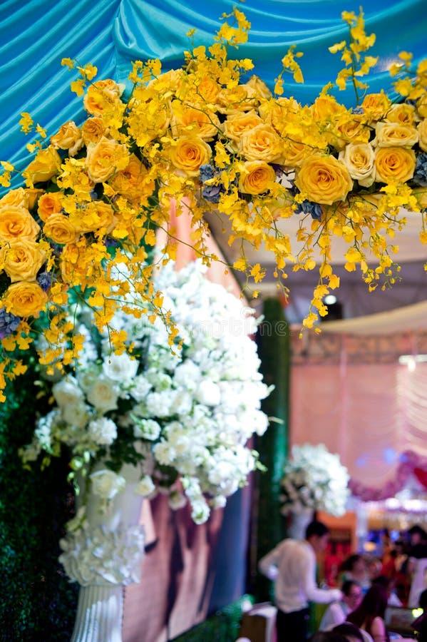 Γαμήλιες ρυθμίσεις στοκ φωτογραφία με δικαίωμα ελεύθερης χρήσης