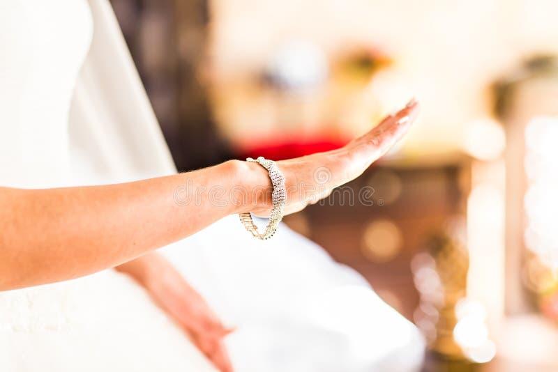 Γαμήλιο κρεμαστό κόσμημα στοκ φωτογραφίες με δικαίωμα ελεύθερης χρήσης