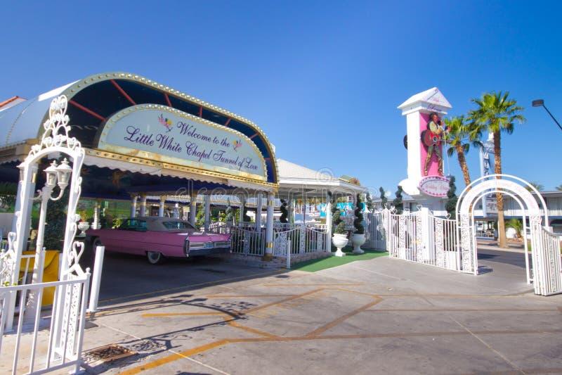 Γαμήλιο παρεκκλησι του Λας Βέγκας στοκ φωτογραφία με δικαίωμα ελεύθερης χρήσης