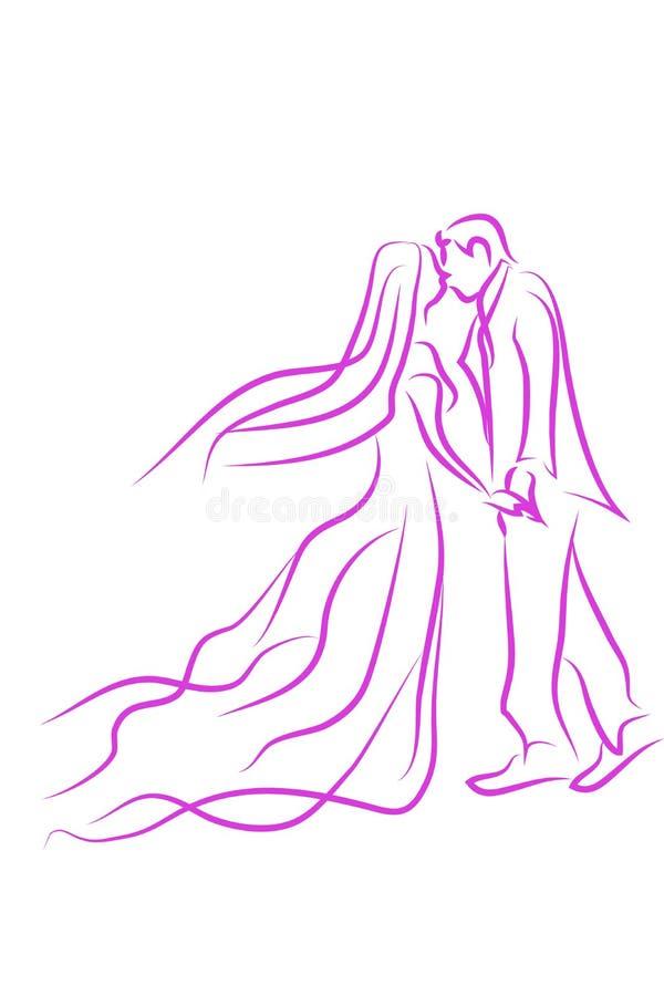 Γαμήλιο σύμβολο απεικόνιση αποθεμάτων