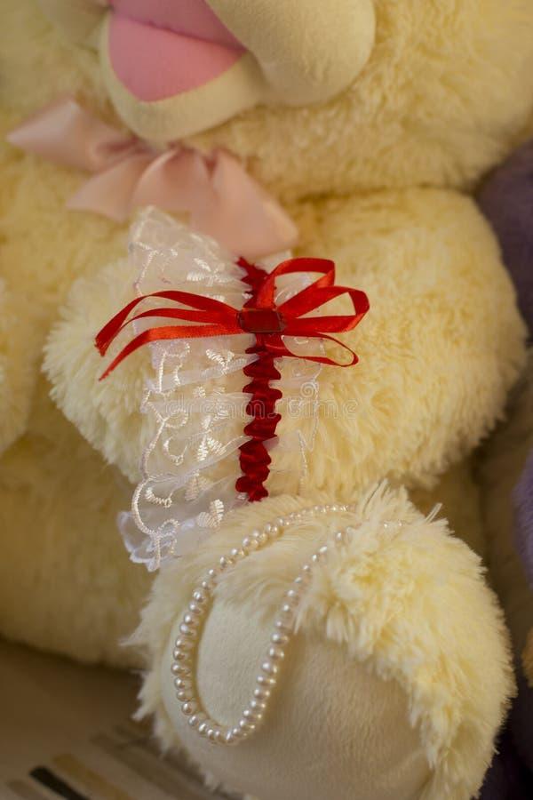 Γαμήλιο garter στοκ εικόνα