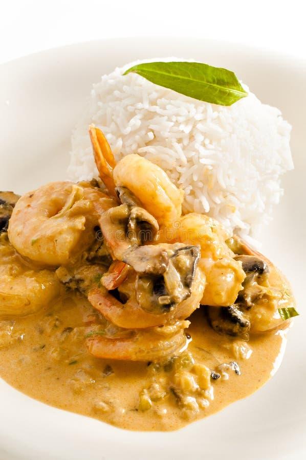 γαρίδα Ταϊλανδός πιάτων στοκ εικόνες με δικαίωμα ελεύθερης χρήσης