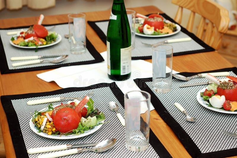 γαρίδες πιάτων Στοκ φωτογραφία με δικαίωμα ελεύθερης χρήσης