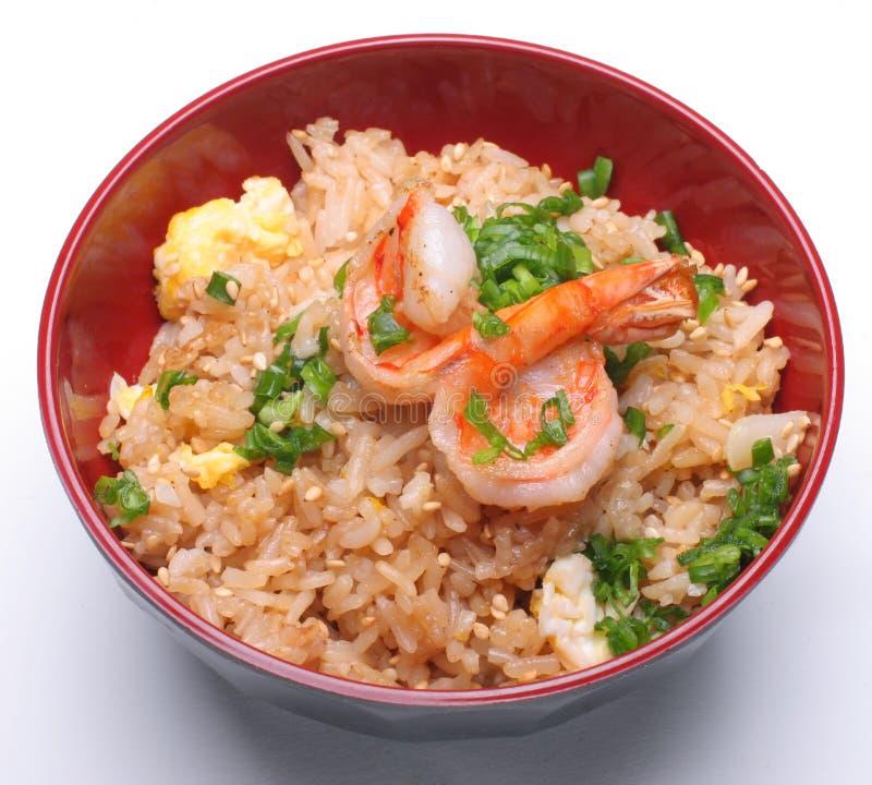 γαρίδες ρυζιού στοκ εικόνες