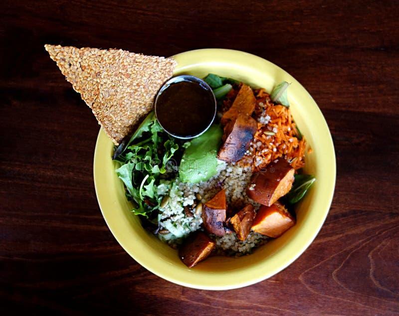 Γαστρονομικό γεύμα Vegan στοκ φωτογραφία με δικαίωμα ελεύθερης χρήσης