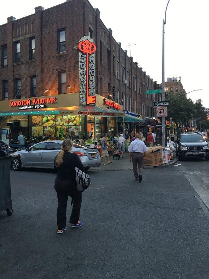 Γαστρονομικό κατάστημα τροφίμων στη λεωφόρο παραλιών του Μπράιτον στοκ εικόνες με δικαίωμα ελεύθερης χρήσης