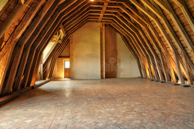 Γαλλία, γραφικό κάστρο Biron σε Dordogne στοκ φωτογραφία με δικαίωμα ελεύθερης χρήσης