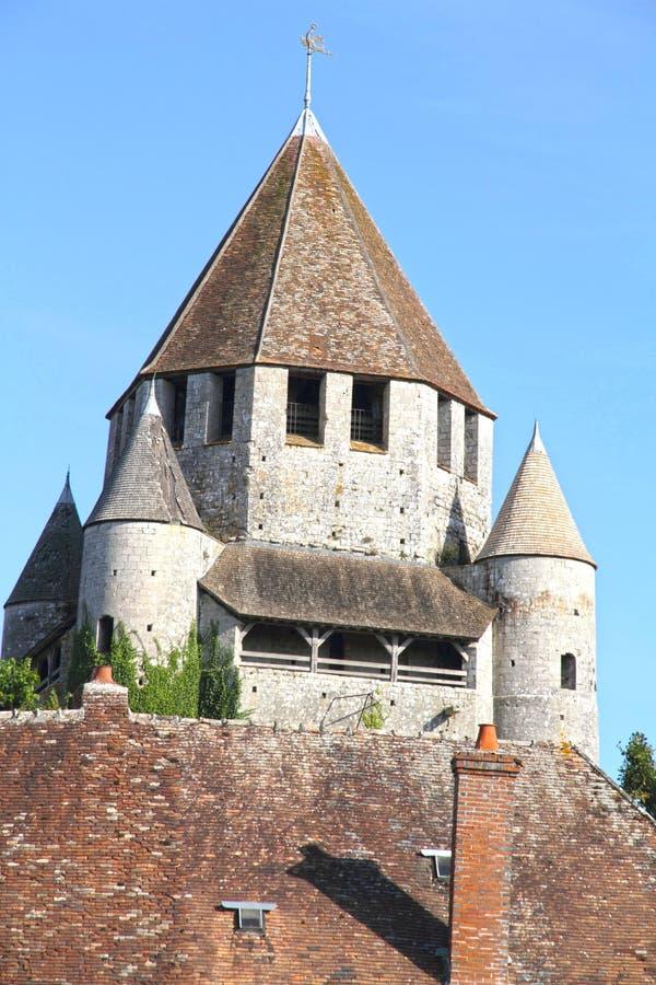 Γαλλία, περιοχή του Παρισιού, Seine-et-Marne, μεσαιωνική πόλη Provins, tou στοκ φωτογραφία