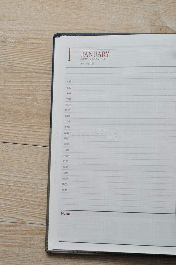Γαλακτοκομική σελίδα για το 1$ο του Ιανουαρίου στοκ φωτογραφίες με δικαίωμα ελεύθερης χρήσης