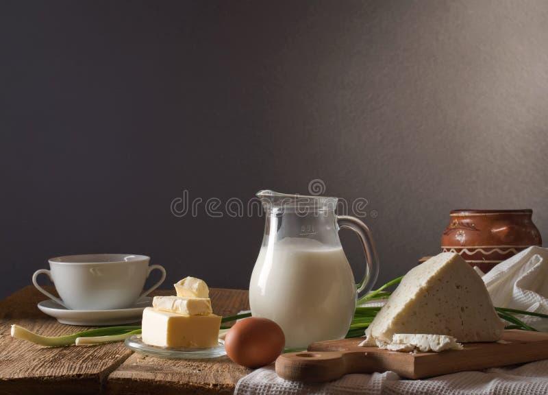 γαλακτοκομικό λευκό προϊόντων απομόνωσης στοκ εικόνες με δικαίωμα ελεύθερης χρήσης