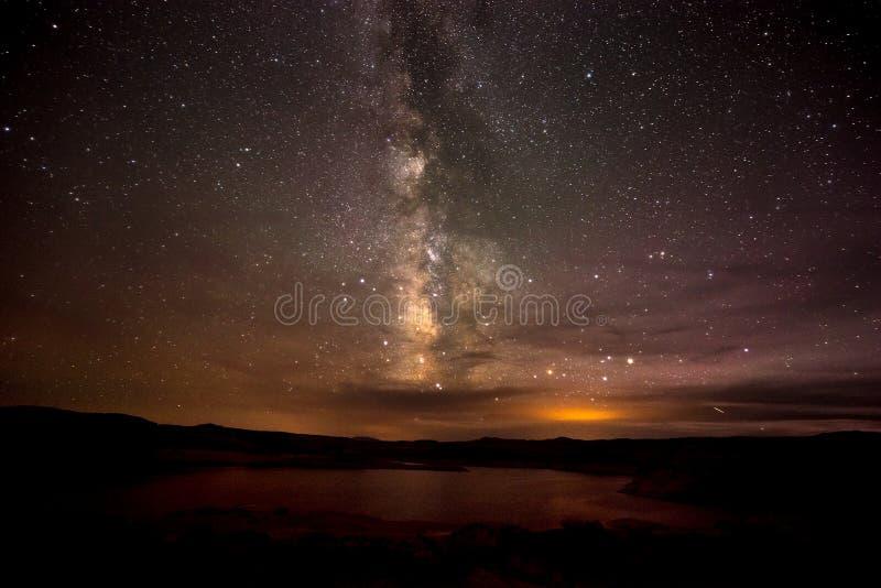 Γαλακτώδης λίμνη Powell Γιούτα τρόπων στοκ εικόνα με δικαίωμα ελεύθερης χρήσης