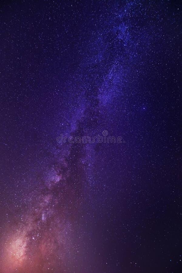Γαλακτώδης γαλαξίας τρόπων στοκ εικόνα