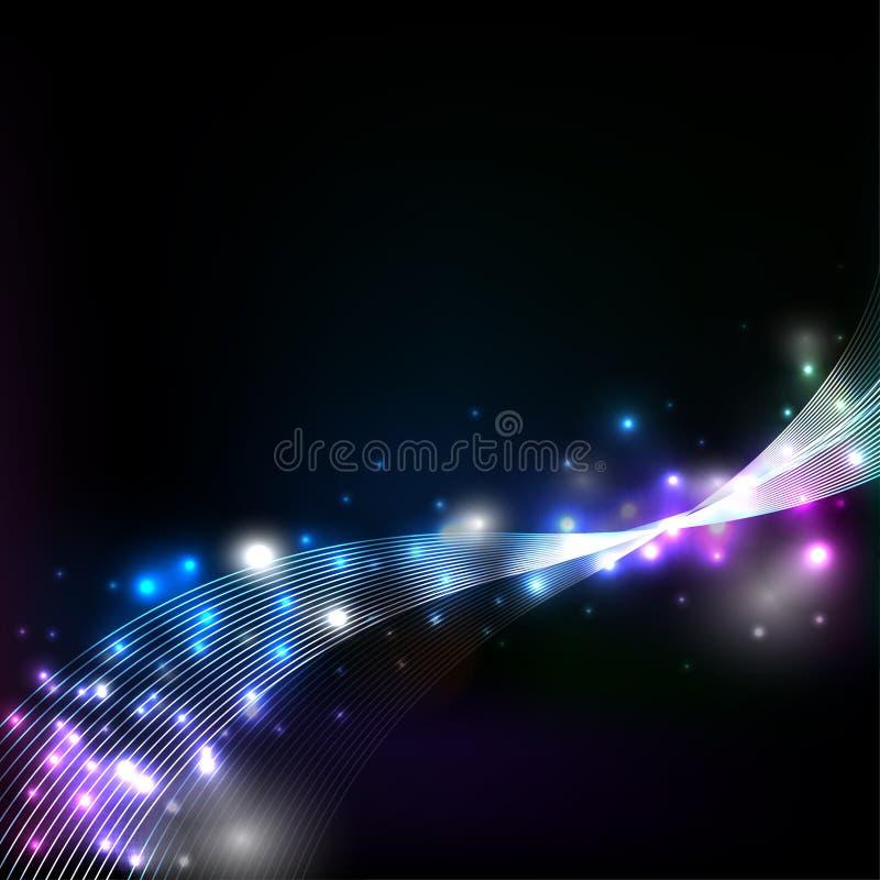 Γαλαξίας και διάνυσμα γοητείας ελεύθερη απεικόνιση δικαιώματος