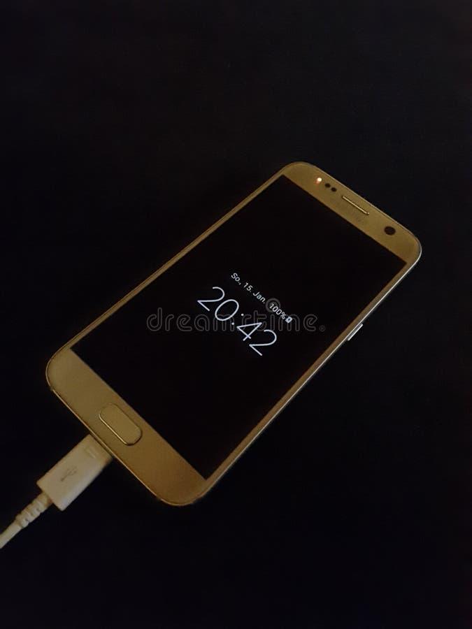 Γαλαξίας της Samsung S7 στοκ εικόνα με δικαίωμα ελεύθερης χρήσης