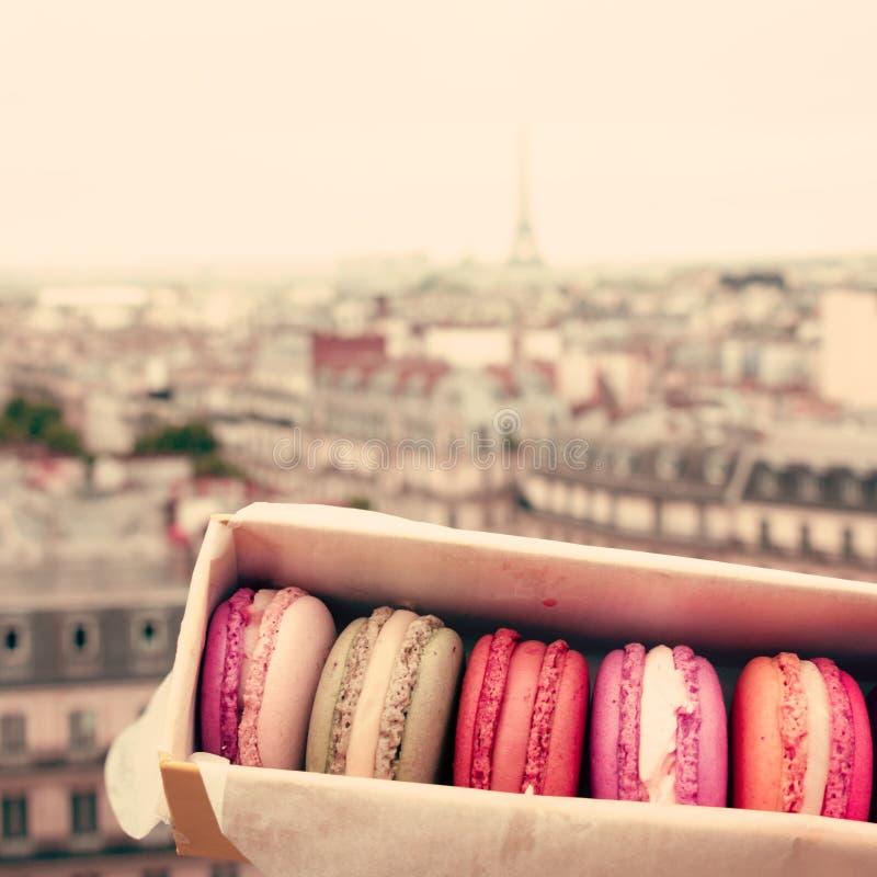 γαλλικά macarons στοκ εικόνες με δικαίωμα ελεύθερης χρήσης