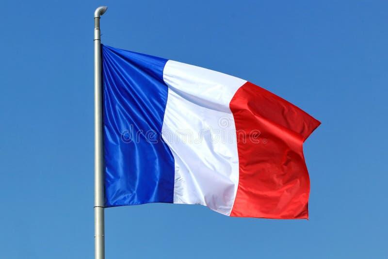 Γαλλική σημαία στοκ εικόνα