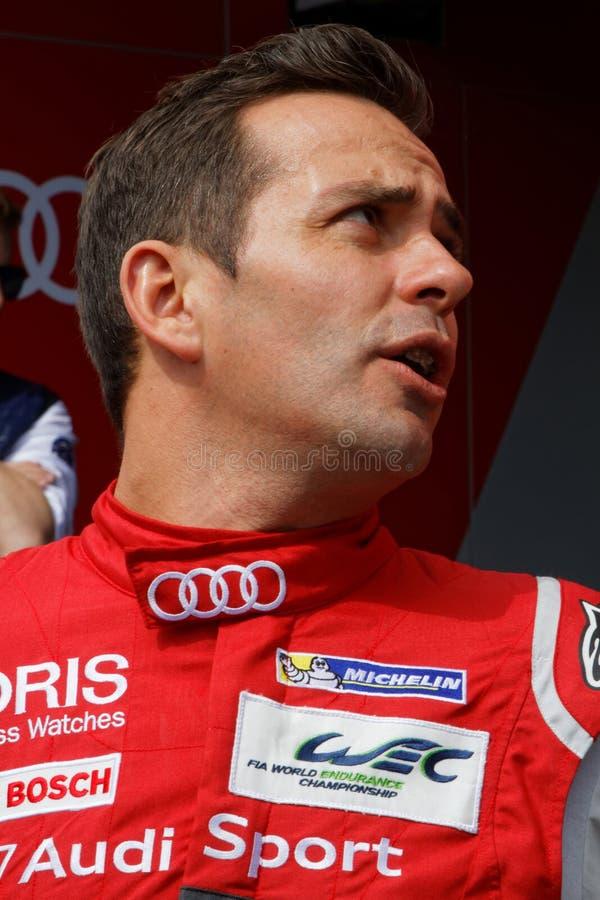 Γαλλικός οδηγός Benoit Treluyer στοκ φωτογραφία με δικαίωμα ελεύθερης χρήσης