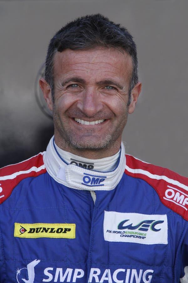 Γαλλικός οδηγός Nicolas Minassian στοκ εικόνες