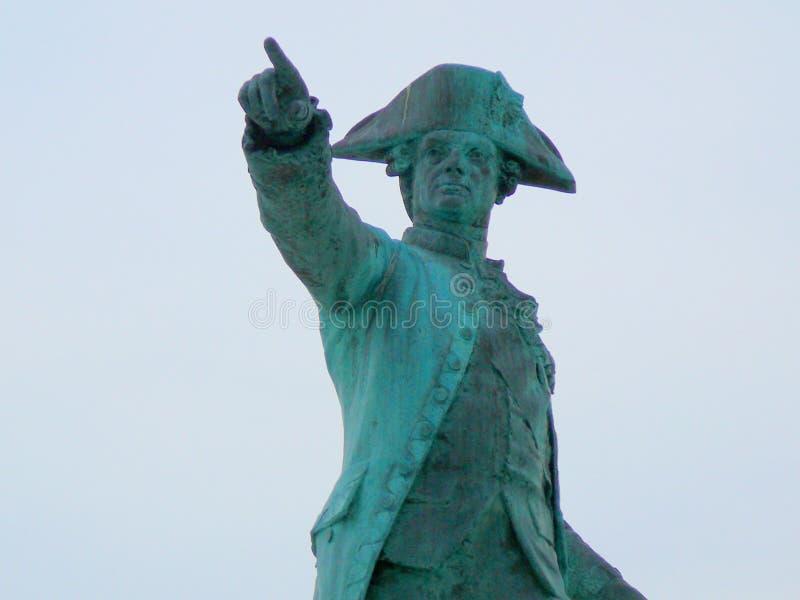 Γαλλικός Πτέραρχος Rochambeau στοκ φωτογραφία με δικαίωμα ελεύθερης χρήσης