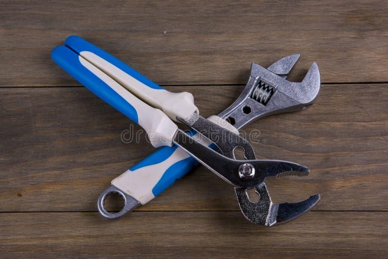 γαλλικό κλειδί δύο στοκ εικόνα με δικαίωμα ελεύθερης χρήσης