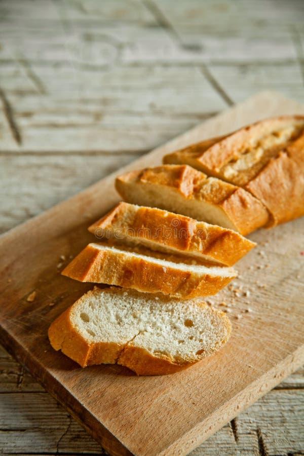 Γαλλικό baguette ψωμιού στοκ εικόνα με δικαίωμα ελεύθερης χρήσης