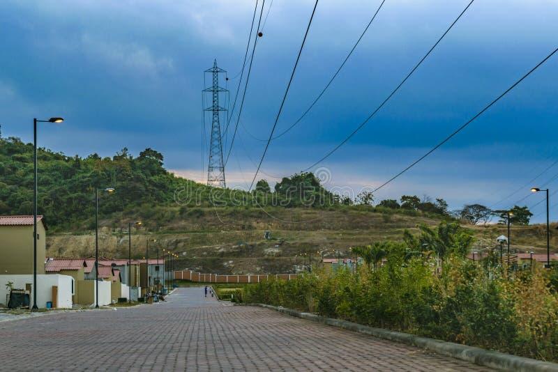 Γειτονιά συγκυριαρχιών περιχώρων, Guayaquil, Ισημερινός στοκ εικόνες με δικαίωμα ελεύθερης χρήσης