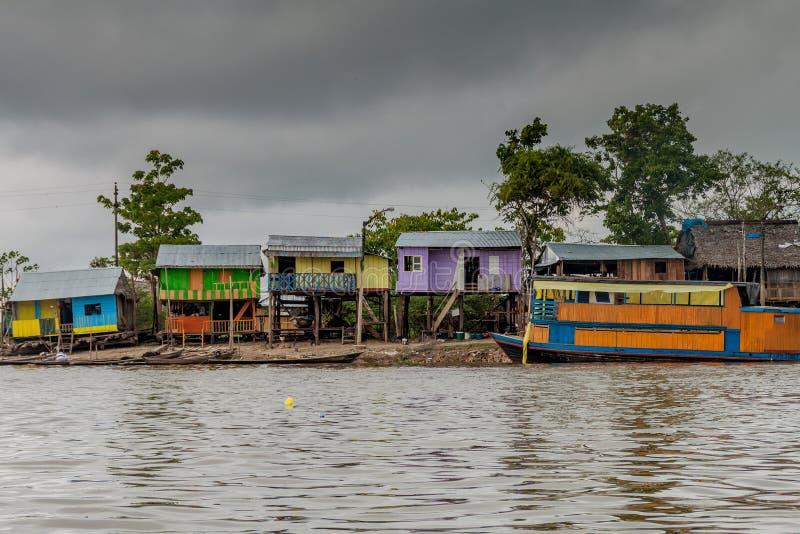 Γειτονιά της Belen Iquitos στοκ εικόνα με δικαίωμα ελεύθερης χρήσης