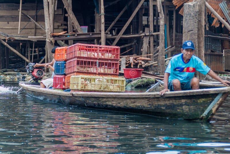 Γειτονιά της Belen Iquitos στοκ εικόνες