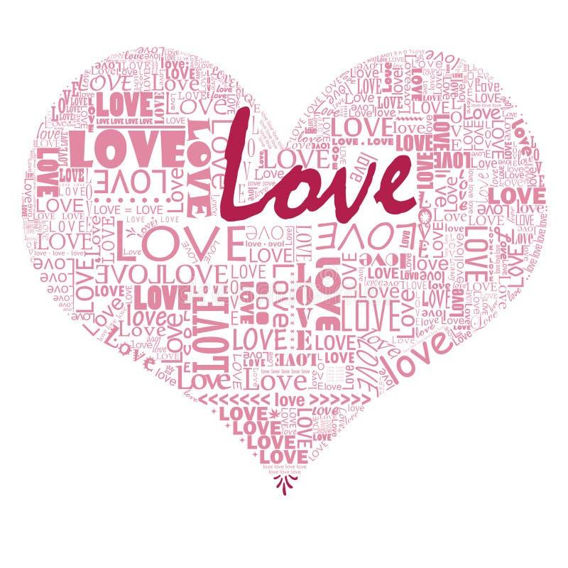 γεμίστε την αγάπη καρδιών σ&a ελεύθερη απεικόνιση δικαιώματος